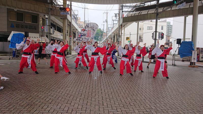 釜山奇兵隊&釜山外国語大学校(唐戸商店街広場)